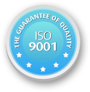 THE GUARANTEE OF QUALITY ISO 9001